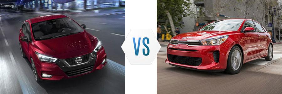 2020 Nissan Versa vs Kia Rio