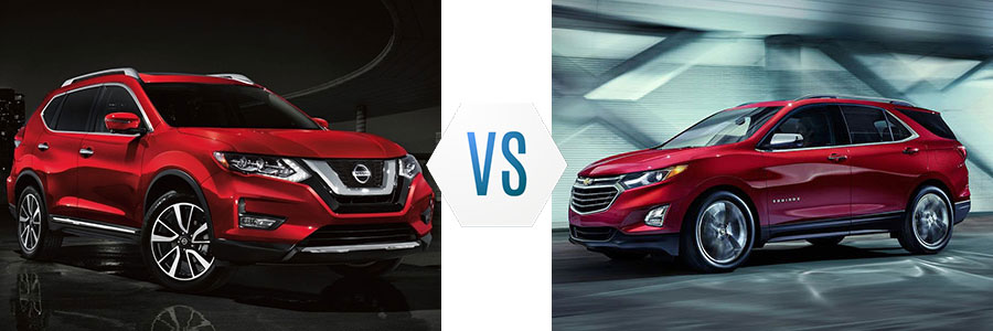 2019 Nissan Rogue vs Chevrolet Equinox
