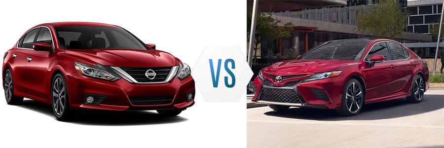 2018 Nissan Altima vs Toyota Camry