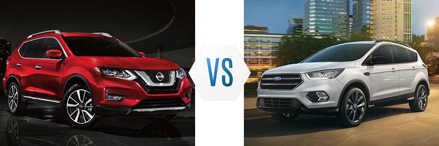 2019 Nissan Rogue vs Ford Escape