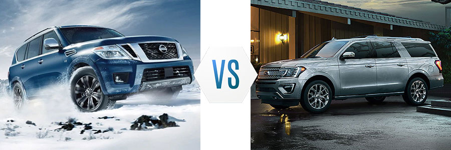 2019 Nissan Armada vs Ford Expedition