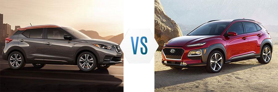 2019 Nissan Kicks vs Hyundai Kona