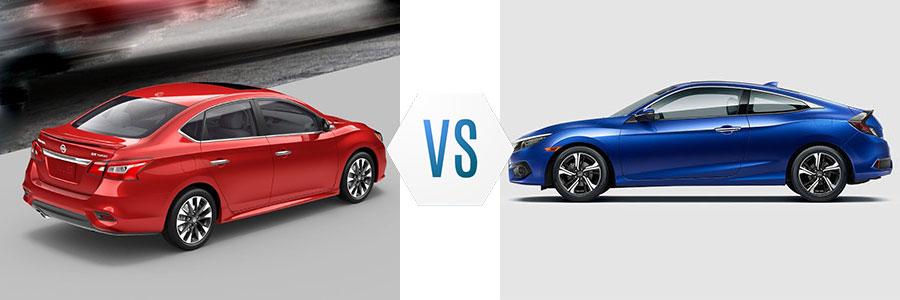 2018 Nissan Sentra vs Honda Civic