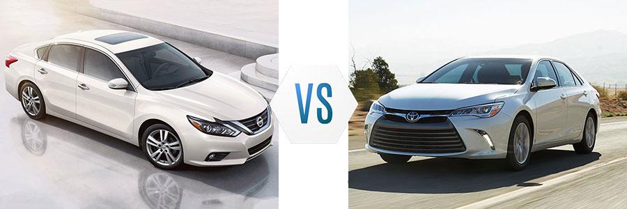2017 Nissan Altima vs Toyota Camry