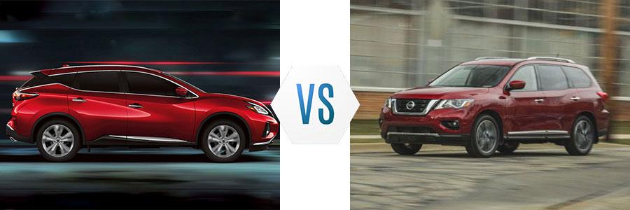 2020 Nissan Murano vs Pathfinder