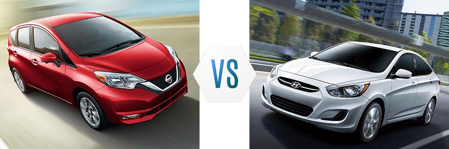 2017 Nissan Versa Note vs Hyundai Accent