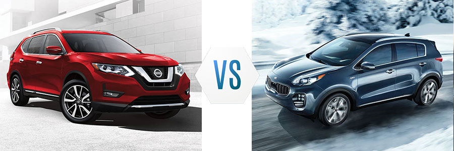 2017 Nissan Rogue vs Kia Sportage