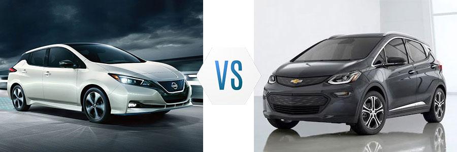 2020 Nissan Leaf vs Chevrolet Bolt