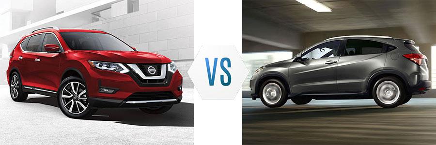 2017 Nissan Rogue vs Honda HR-V