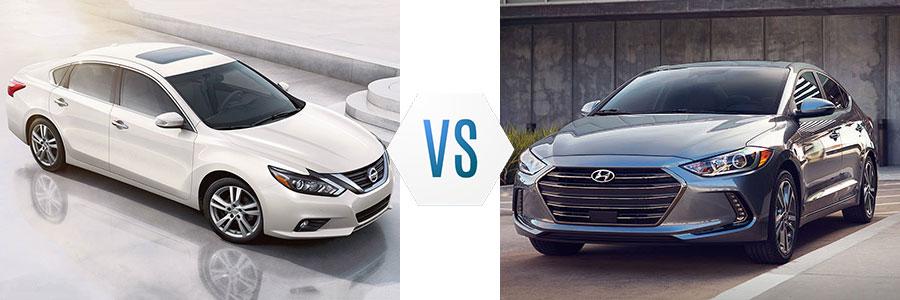2017 Nissan Altima vs Hyundai Elantra