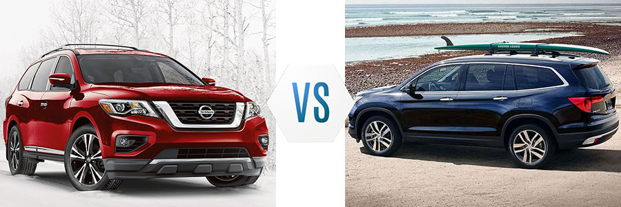 2018 Nissan Pathfinder vs Honda Pilot