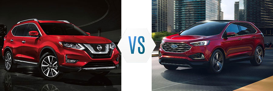 2019 Nissan Rogue vs Ford Edge