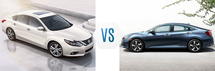 2017 Nissan Altima vs Honda Civic