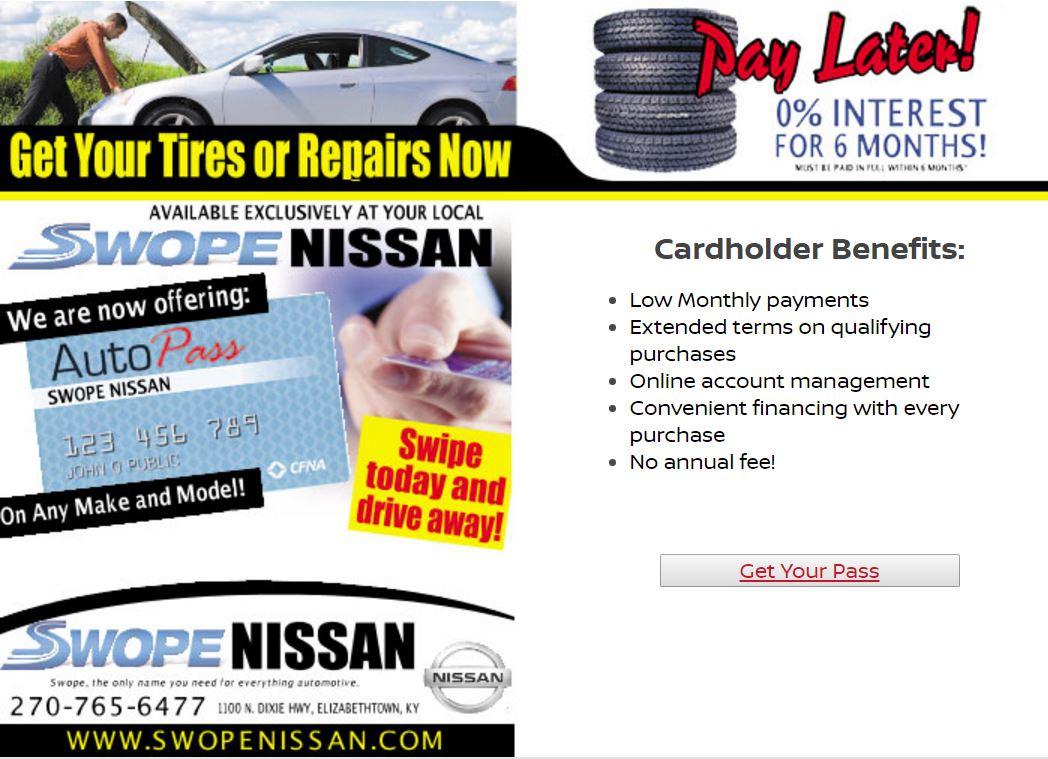 Swope Nissan Repairs Now