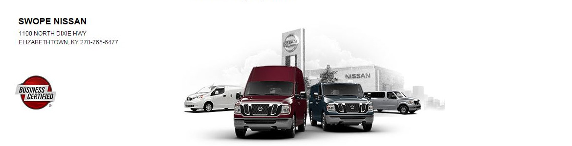 Swope Nissan Commerical Fleet