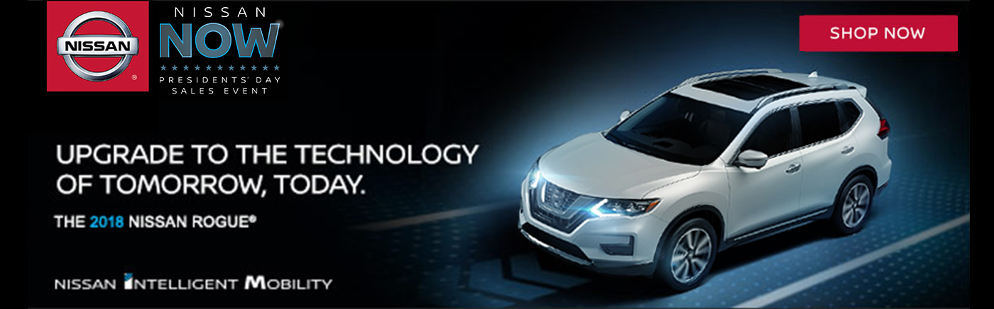 Nissan Now Sales Event Rogue