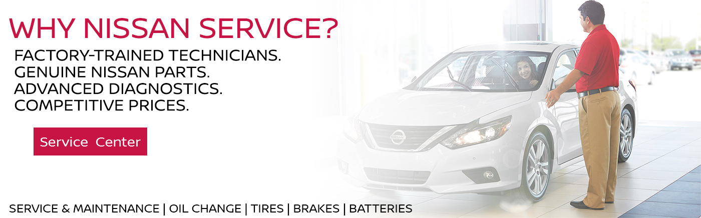 Why Nissan Service